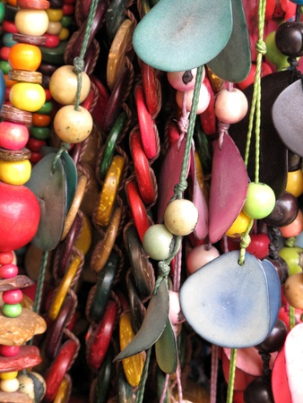 Ancient colorful Necklaces photo