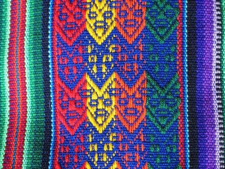 peruvian culture: South America Indian woven fabrics