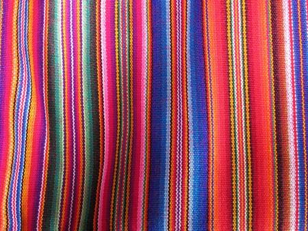 Amérique du Sud Indien tissus Banque d'images - 11172049