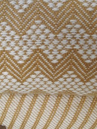 South America Indian woven fabrics photo