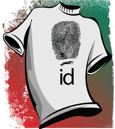 friend nobody: sketch of id tee illustration