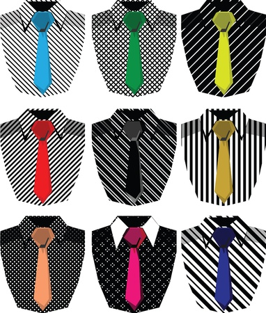 business shirts: Hombres camiseta de ilustraci�n