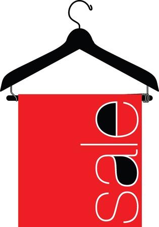 гардероб: вешалка для одежды иллюстрации