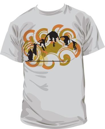 Tee shirt Vector