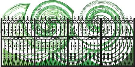 Decorative lattice illustration Stock Vector - 16763058