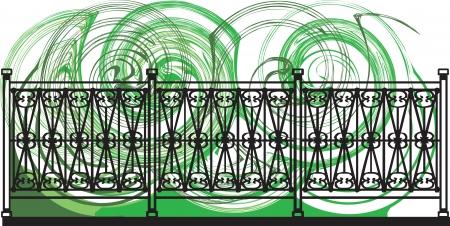 Decorative lattice illustration Stock Vector - 16762902