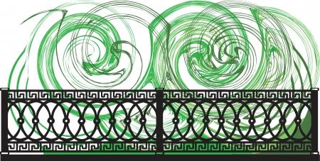 Decorative lattice illustration Stock Vector - 16762898