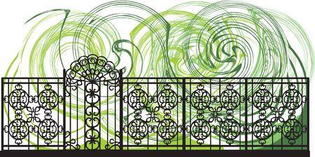 Decorative lattice illustration Stock Vector - 16808827