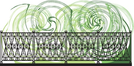 Decorative lattice illustration Vector