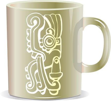 deliciously: ancient mug illustration