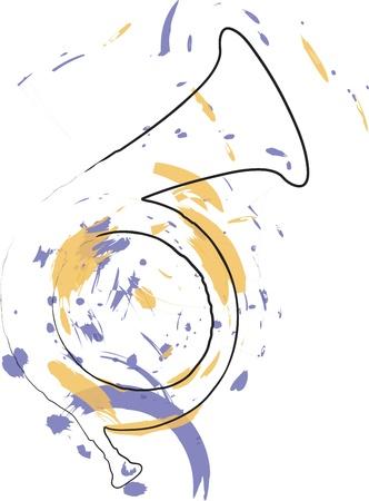 Music Instrument. Vector illustration Illustration