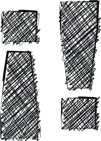 Hand draw font. Vector illustration Stock Vector - 19551748