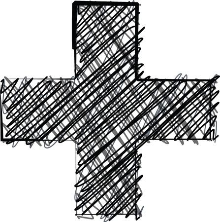 Hand draw font. Vector illustration Stock Vector - 19551720