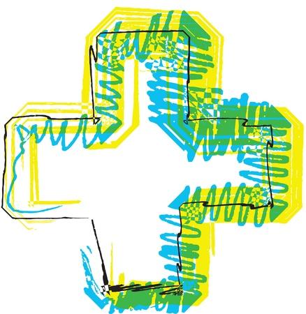 Hand drawn symbol Stock Vector - 22067843