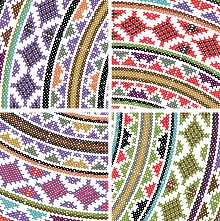 ancient pattern  Vector illustration Vector