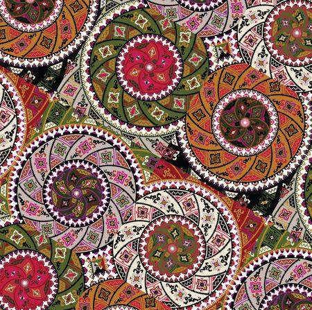 sudamerican: ancient pattern  Vector illustration Illustration