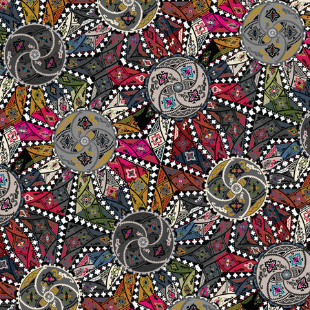 ancient pattern. Vector illustration Stock Vector - 24337062