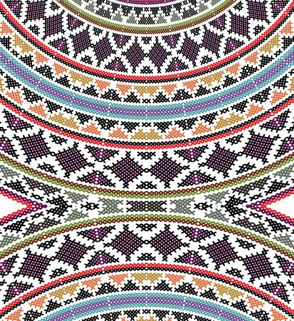 sudamerican: ancient pattern. Vector illustration Illustration