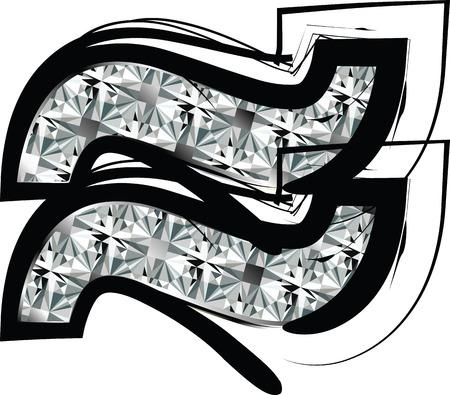 Diamond Font %u2248 Symbol Vector