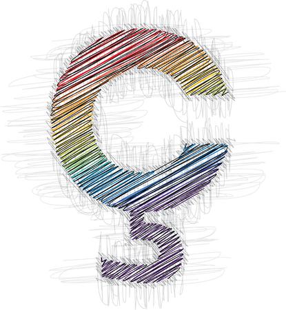 punctuation mark: Dibujado a mano s�mbolo