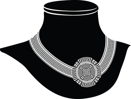 ancient necklace Illustration