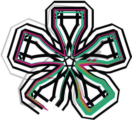 asterisk: Symbol illustration Illustration