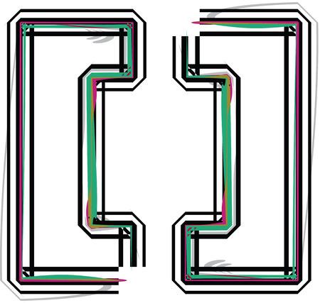 punctuation mark: Ilustraci�n del s�mbolo
