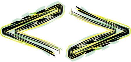 punctuation mark: Symbol illustration Illustration