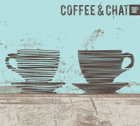 coffee break: Coffee illustration Illustration