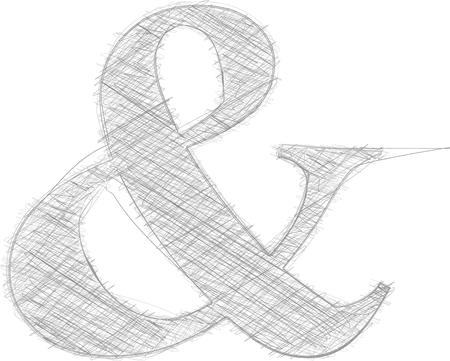 punctuation mark: Freehand Symbol