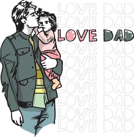 firstborn: Dad love