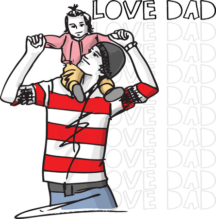 firstborn: Dad love