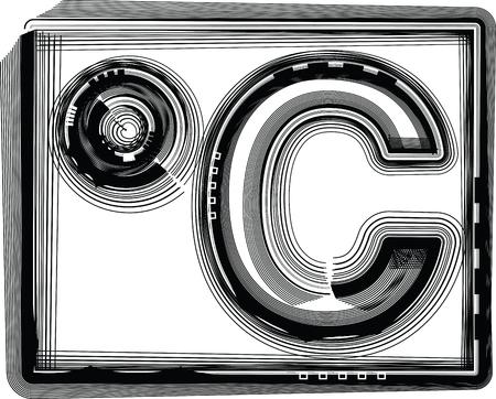 celcius: Celcius Striped Symbol