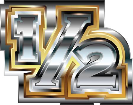 Fancy 12 symbol Vector