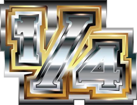 Fancy 14 symbol Vector