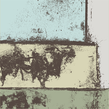 grained: Grunge vector background illustration Illustration