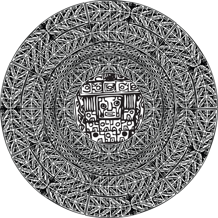 ancient pattern. Vector illustration Illustration
