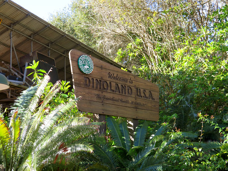 Dinoland at Animal kingdom