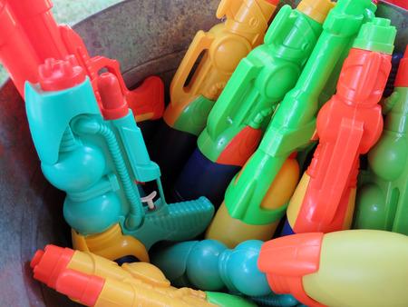 barrel bomb: Water spray gun