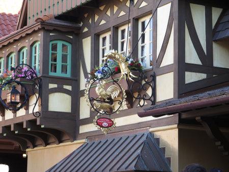 Magic Kingdom on February 7, 2015 in Orlando - Florida