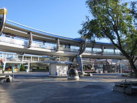 Peoplemover on Tomorrowland at Magic Kingdom on February 11, 2015 in Orlando - Florida