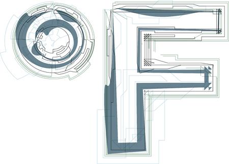 fahrenheit: Resumen ilustraci�n vectorial Fahrenheit S�mbolo Vectores