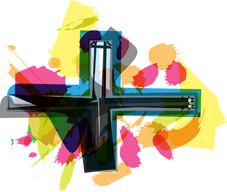symbol vector: Artistic Symbol vector illustration