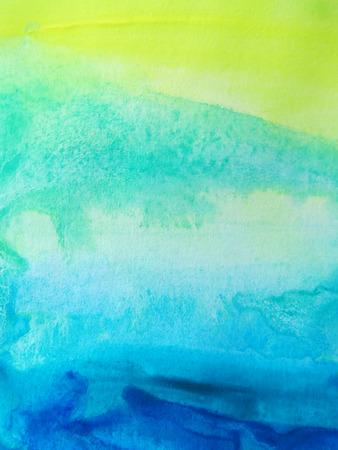 paper craft: Acuarela abstracta pintado de fondo  Foto de archivo