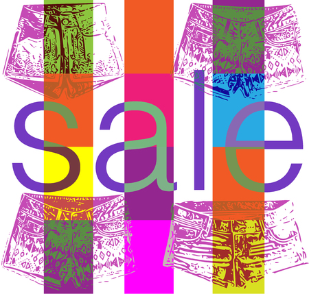 holiday shopping: holiday shopping sale banner vector illustration
