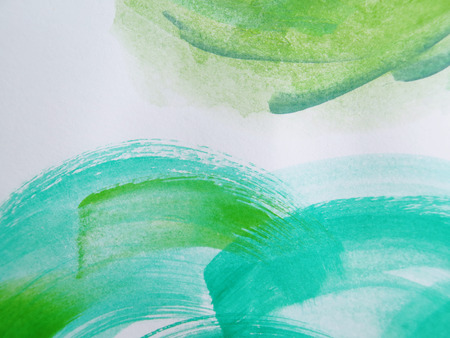 expressionism: Colorful Abstract watercolor painted background Stock Photo