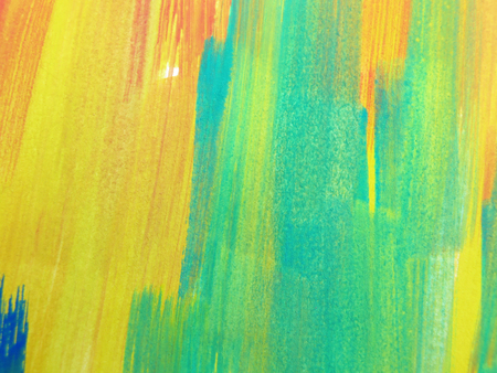 painted background: Colorful Abstract watercolor painted background Stock Photo