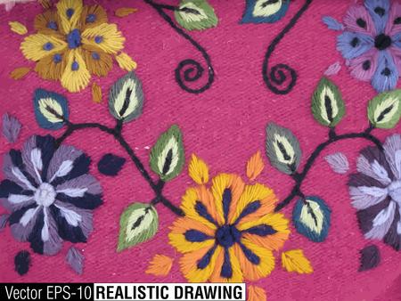 paracas: South America Indian woven fabrics