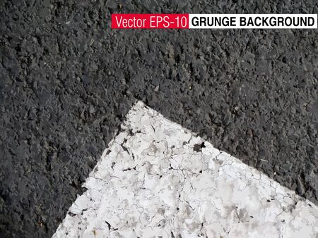 side border: Abstract asphalt texture, can use as a background with space for text or image