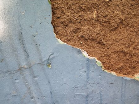 peeling paint: Grunge wall background with Old Peeling Paint